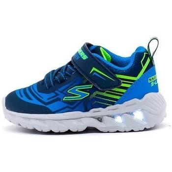 Chaussures Garçon Baskets basses Skechers  Azul