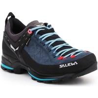 Chaussures Femme Fitness / Training Salewa WS Mtn Trainer 2 Gtx Noir, Bleu marine