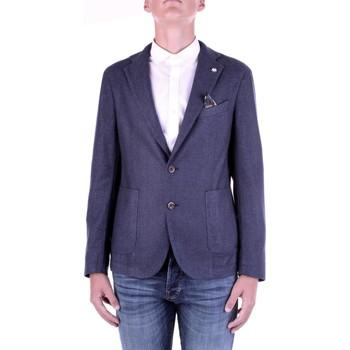 Vêtements Homme Vestes / Blazers Manuel Ritz 2932G2728TW-203507 Bleu