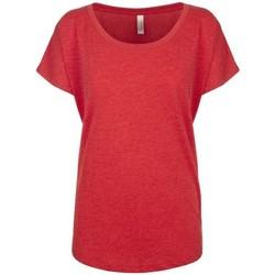 Vêtements Femme T-shirts manches courtes Next Level NX6760 Rouge