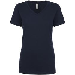 Vêtements Femme T-shirts manches courtes Next Level NX1540 Bleu marine