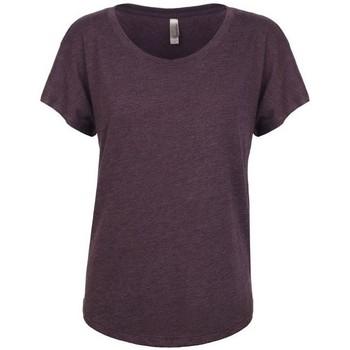 Vêtements Femme T-shirts manches courtes Next Level NX6760 Violet d'évêque