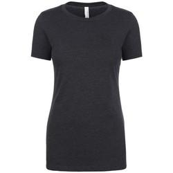 Vêtements Femme T-shirts manches courtes Next Level NX6610 Charbon