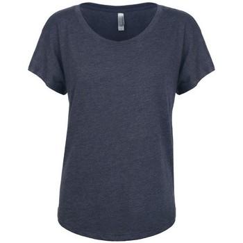 Vêtements Femme T-shirts manches courtes Next Level NX6760 Bleu marine