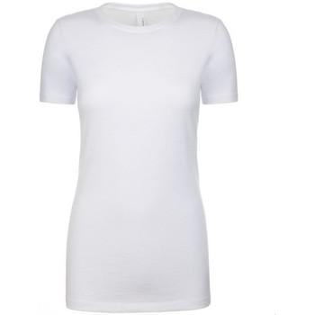 Vêtements Femme T-shirts manches courtes Next Level NX6610 Blanc