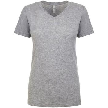 Vêtements Femme T-shirts manches courtes Next Level NX1540 Gris clair