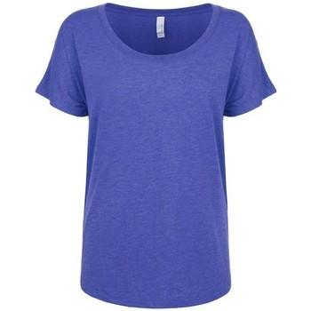 Vêtements Femme T-shirts manches courtes Next Level NX6760 Bleu Royale