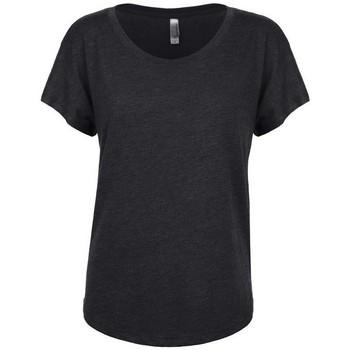 Vêtements Femme T-shirts manches courtes Next Level NX6760 Noire
