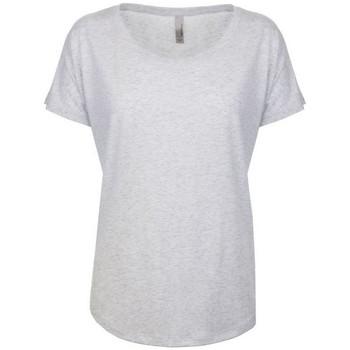 Vêtements Femme T-shirts manches courtes Next Level NX6760 Blanc chiné