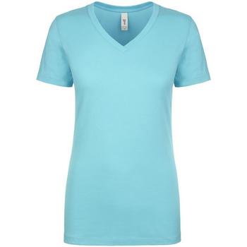 Vêtements Femme T-shirts manches courtes Next Level NX1540 Bleu tahiti