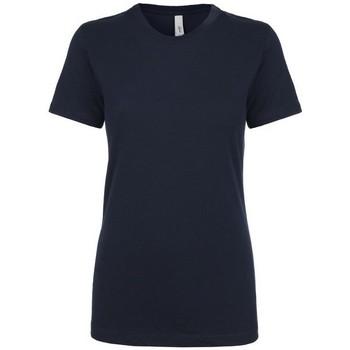 Vêtements Femme T-shirts manches courtes Next Level NX1510 Bleu marine