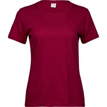 Vêtements Femme T-shirts manches courtes Tee Jays T8050 Rouge