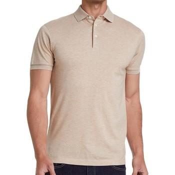 Vêtements Homme Polos manches courtes Hackett HM562390-913 Blanc cassé