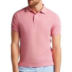 Vêtements Homme Polos manches courtes Hackett HM562363-357 Rose