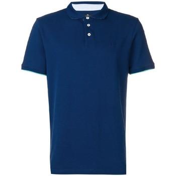Vêtements Homme Polos manches courtes Hackett HM562377-581 Bleu