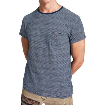 Vêtements Homme T-shirts manches courtes Hackett HM500318-561 Bleu