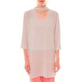 Vêtements Femme Robes courtes La Vitrine De La Mode Robe 156 By La Vitrine Beige Beige