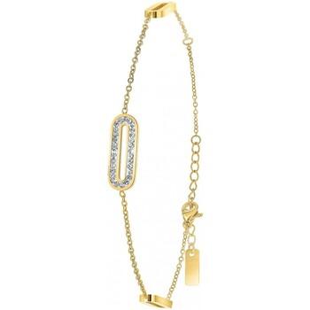 Montres & Bijoux Femme Bracelets Sc Crystal B2190 Doré
