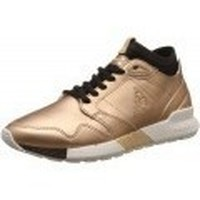 Chaussures Femme Baskets basses Le Coq Sportif Omicron Rose Gold rose