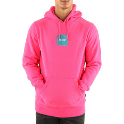 Vêtements Homme Sweats Huf Sweat ? capuche  BOX LOGO P/0 HOODIE Rose clair