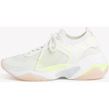 Chaussures Femme Baskets basses Tamaris Chaussures plates blanches flu Blanc