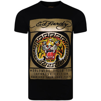 Vêtements T-shirts & Polos Ed Hardy Tile-roar t-shirt Noir
