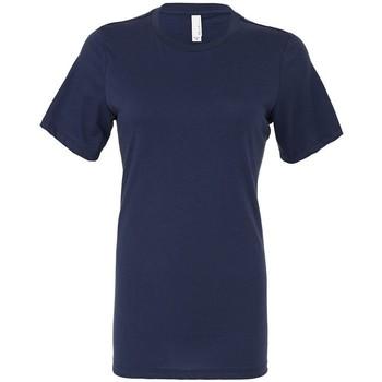 Vêtements Femme T-shirts manches courtes Bella + Canvas BL6400 Bleu marine