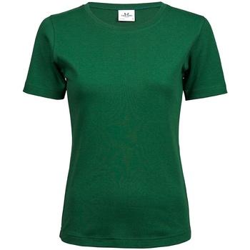 Vêtements Femme T-shirts manches courtes Tee Jays T580 Vert foncé