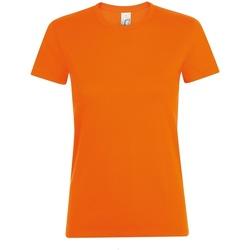 Vêtements Femme T-shirts manches courtes Sols 01825 Orange