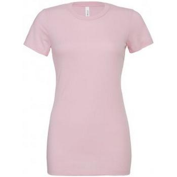 Vêtements Femme T-shirts manches courtes Bella + Canvas BL6400 Rose