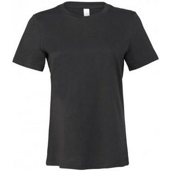 Vêtements Femme T-shirts manches courtes Bella + Canvas BL6400 Gris foncé