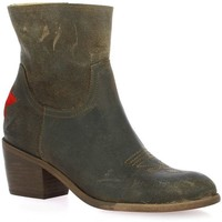 Chaussures Femme Bottines Ngy Boots cuir Marron