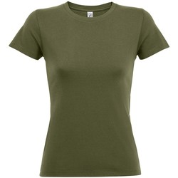 Vêtements Femme T-shirts manches courtes Sols 01825 Vert militaire