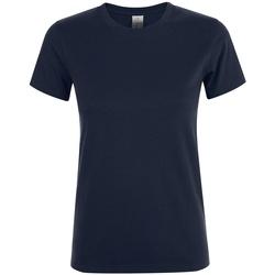 Vêtements Femme T-shirts manches courtes Sols 01825 Bleu