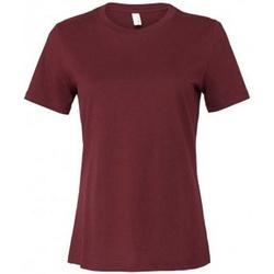 Vêtements Femme T-shirts manches courtes Bella + Canvas BL6400 Bordeaux
