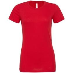 Vêtements Femme T-shirts manches courtes Bella + Canvas BL6400 Rouge