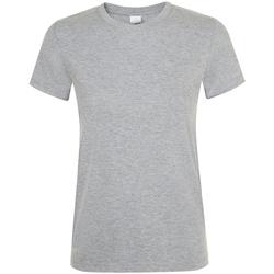 Vêtements Femme T-shirts manches courtes Sols 01825 Gris clair