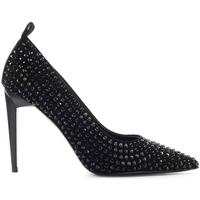 Chaussures Femme Escarpins Eddy Daniele Escarpins Swarovski Noir Black