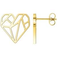 Montres & Bijoux Femme Boucles d'oreilles Sc Crystal B2244-DORE Doré
