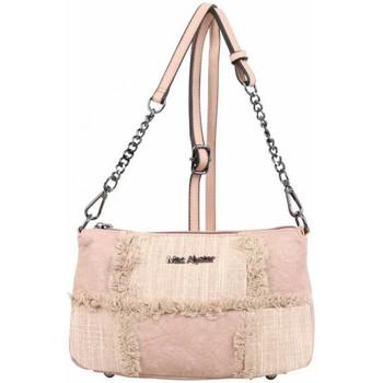 Sacs Femme Sacs Bandoulière Mac Alyster Petit sac bandoulière chaîne  panache rose Multicolor