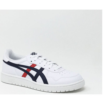 Chaussures Baskets basses Asics JAPAN S GS BLANC/ROUGE Rouge