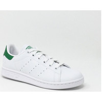 Chaussures Baskets basses adidas Originals STAN SMITH VEGAN BLANC/VERT Vert
