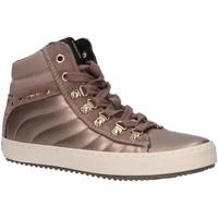 Chaussures Fille Baskets montantes Geox J944GH 0AJ22 J KALISPERA Gold