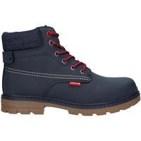 Chaussures Garçon Boots Levi's VFOR0051S NEW FORREST Azul