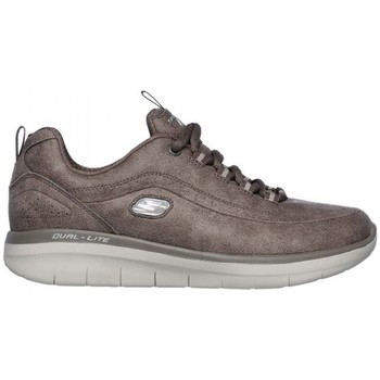 Chaussures Femme Baskets basses Skechers SYNERGY 2.0 12934 Marron