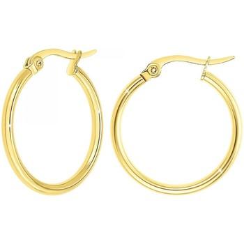 Montres & Bijoux Femme Boucles d'oreilles Sc Crystal B2262-DORE Doré