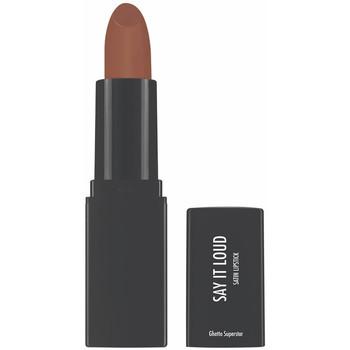 Beauté Femme Rouges à lèvres Sleek Say It Loud Satin Lipstick ghetto Superstar 1,16 g