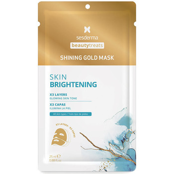 Beauté Femme Masques & gommages Sesderma Beauty Treats Shining Gold Mask  25 ml