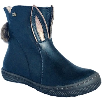 Chaussures Fille Boots Stones and Bones Rean marine