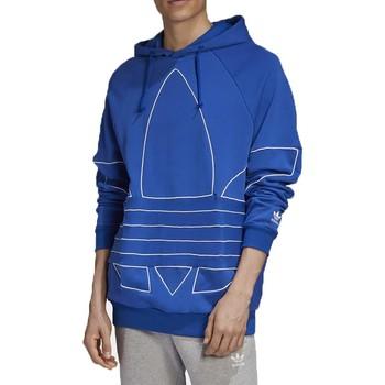 Vêtements Homme Sweats adidas Originals BG TF OUT FELPA CON CAPPUCCIO BLU Bleu